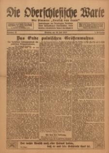 Die Oberschlesische Warte, 1920, Nr 22