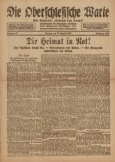 Die Oberschlesische Warte, 1920, Nr 26