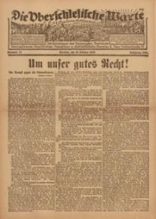 Die Oberschlesische Warte, 1920, Nr 32