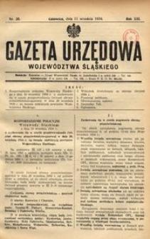 Gazeta Urzędowa Województwa Śląskiego, 1934, R. 13, nr 30