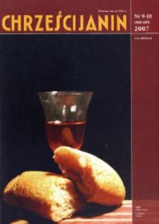 Chrześcijanin, 2007, nr 9/10