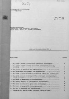 Informacja kwartalna o realizacji zadań planowych w rolnictwie według miast i gmin w woj. miejskim krakowskim, 1979 [cz.2]