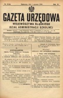 Dział Administracji Szkolnej, 1934, R. 11, nr 6