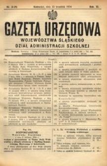 Dział Administracji Szkolnej, 1934, R. 11, nr 9