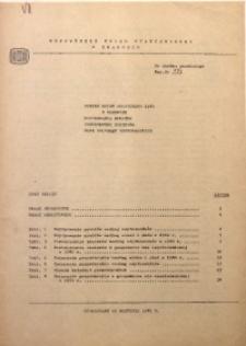 Wyniki spisu rolniczego 1980 w zakresie użytkowania gruntów, powierzchni zasiewów oraz zwierząt gospodarskich