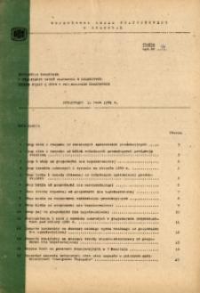 Informacja kwartalna o realizacji zadań planowych w rolnictwie według miast i gmin w woj. miejskim krakowskim, 1981 [cz. 2]