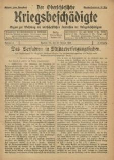 Der Oberschlesische Kriegsbeschädigte, 1920, Jg. 2, Nr 8
