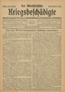 Der Oberschlesische Kriegsbeschädigte, 1920, Jg. 2, Nr 19