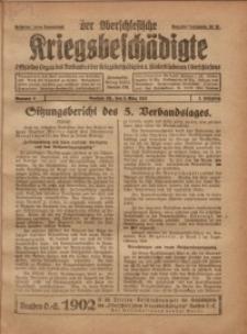 Der Oberschlesische Kriegsbeschädigte, 1921, Jg. 3, Nr 9