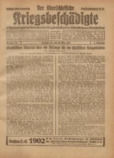 Der Oberschlesische Kriegsbeschädigte, 1921, Jg. 3, Nr 12