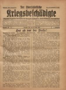 Der Oberschlesische Kriegsbeschädigte, 1921, Jg. 3, Nr 20