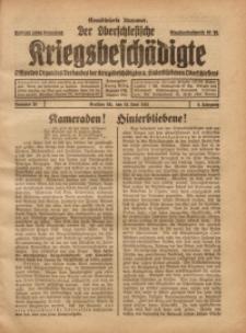 Der Oberschlesische Kriegsbeschädigte, 1921, Jg. 3, Nr 25