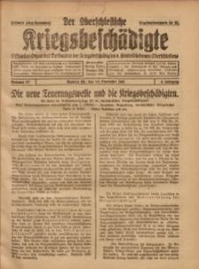 Der Oberschlesische Kriegsbeschädigte, 1921, Jg. 3, Nr 27