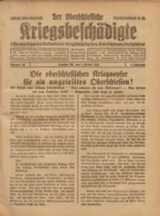 Der Oberschlesische Kriegsbeschädigte, 1921, Jg. 3, Nr 30