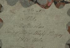 Księga małżeństw Pilica – wieś 1818