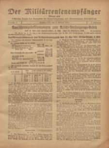 Militärrentenempfänger, 1921, Jg. 3, Nr. 5
