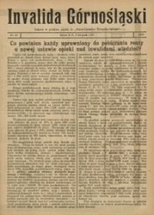Invalida Górnośląski, 1920, Nr. 45