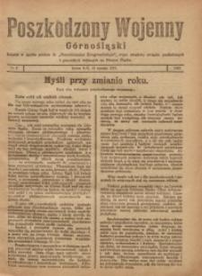 Poszkodzony Wojenny Górnośląski, 1921, Nr. 2