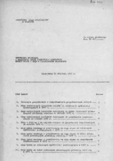 Informacja kwartalna o realizacji zadań planowych w rolnictwie według miast i gmin w woj. miejskim krakowskim, 1977 [cz. 2]