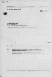 Informacja statystyczna. Nakłady inwestycyjne poniesione w okresie styczeń-sierpień 1981 r. w zakresie zadań rzeczowych o terminie zakończenia w 1981 r.