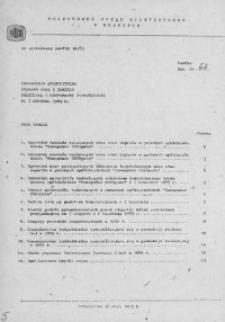 Informacja statystyczna. Wybrane dane z zakresu rolnictwa i gospodarki żywnościowej za I kwartał 1983 r.