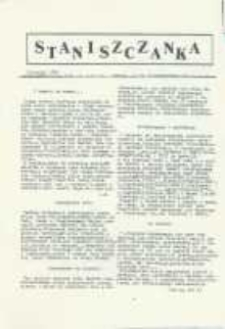 Staniszczanka : pismo Śląskiej Unii Chrześcijańskiej 1990, [nr 4].