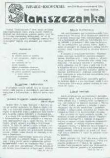 Staniszczanka : Staniszcze, Kolonowskie 1993, nr 4 (14).