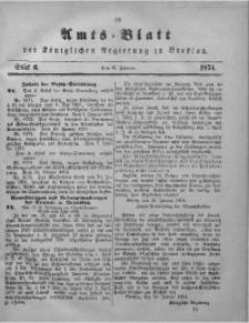 Amts-Blatt der Königlichen Regierung zu Breslau, 1874, Bd. 65, St. 6