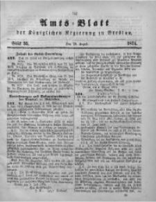 Amts-Blatt der Königlichen Regierung zu Breslau, 1874, Bd. 65, St. 35