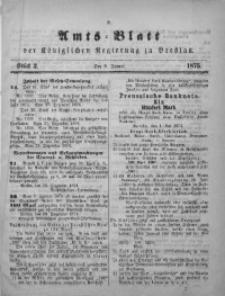 Amts-Blatt der Königlichen Regierung zu Breslau, 1875, Bd. 66, St. 2