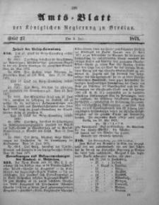 Amts-Blatt der Königlichen Regierung zu Breslau, 1875, Bd. 66, St. 27