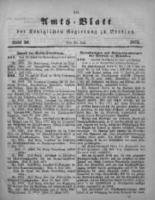 Amts-Blatt der Königlichen Regierung zu Breslau, 1875, Bd. 66, St. 30