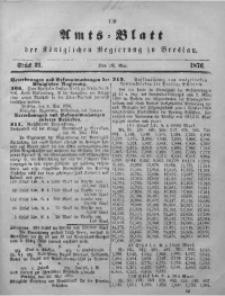 Amts-Blatt der Königlichen Regierung zu Breslau, 1876, Bd. 67, St. 21
