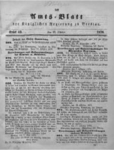 Amts-Blatt der Königlichen Regierung zu Breslau, 1876, Bd. 67, St. 43