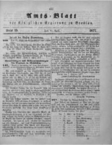 Amts-Blatt der Königlichen Regierung zu Breslau, 1877, Bd. 68, St. 15