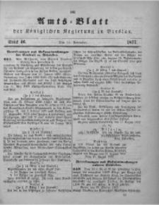 Amts-Blatt der Königlichen Regierung zu Breslau, 1877, Bd. 68, St. 46