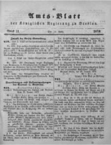 Amts-Blatt der Königlichen Regierung zu Breslau, 1879, Bd. 70, St. 11
