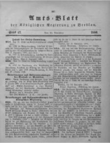 Amts-Blatt der Königlichen Regierung zu Breslau, 1880, Bd. 71, St. 47
