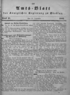 Amts-Blatt der Königlichen Regierung zu Breslau, 1883, Bd. 74, St. 51