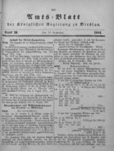 Amts-Blatt der Königlichen Regierung zu Breslau, 1884, Bd. 75, St. 39