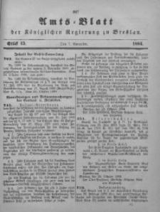 Amts-Blatt der Königlichen Regierung zu Breslau, 1884, Bd. 75, St. 45
