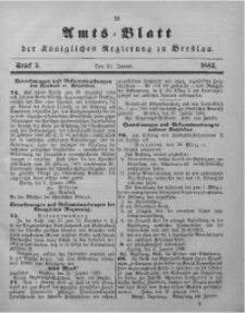 Amts-Blatt der Königlichen Regierung zu Breslau, 1885, Bd. 76, St. 5