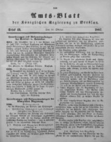 Amts-Blatt der Königlichen Regierung zu Breslau, 1887, Bd. 78, St. 43