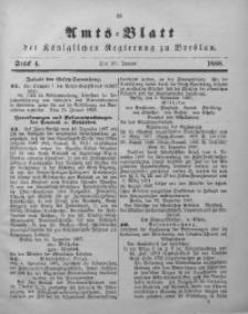 Amts-Blatt der Königlichen Regierung zu Breslau, 1888, Bd. 79, St. 4