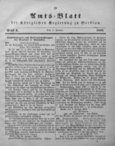 Amts-Blatt der Königlichen Regierung zu Breslau, 1888, Bd. 79, St. 5