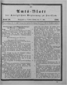 Amts-Blatt der Königlichen Regierung zu Breslau, 1888, Bd. 79, St. 30