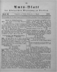 Amts-Blatt der Königlichen Regierung zu Breslau, 1888, Bd. 79, St. 33