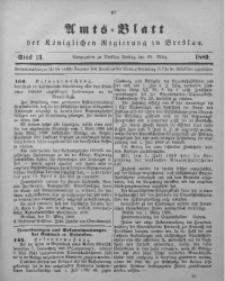 Amts-Blatt der Königlichen Regierung zu Breslau, 1889, Bd. 80, St. 13