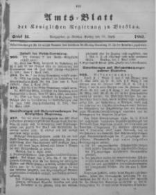 Amts-Blatt der Königlichen Regierung zu Breslau, 1889, Bd. 80, St. 16