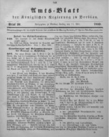 Amts-Blatt der Königlichen Regierung zu Breslau, 1889, Bd. 80, St. 20